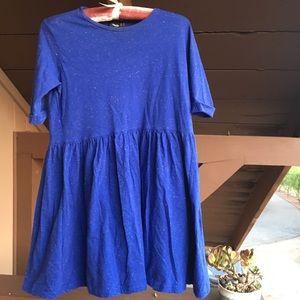 ASOS royal blue baby doll mini dress